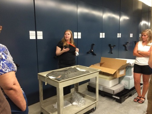 History Colorado Curator Natalie Elder gives a behind the scene look at the museum's collection.