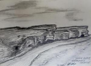 Matt - Omaha Beach Sketch